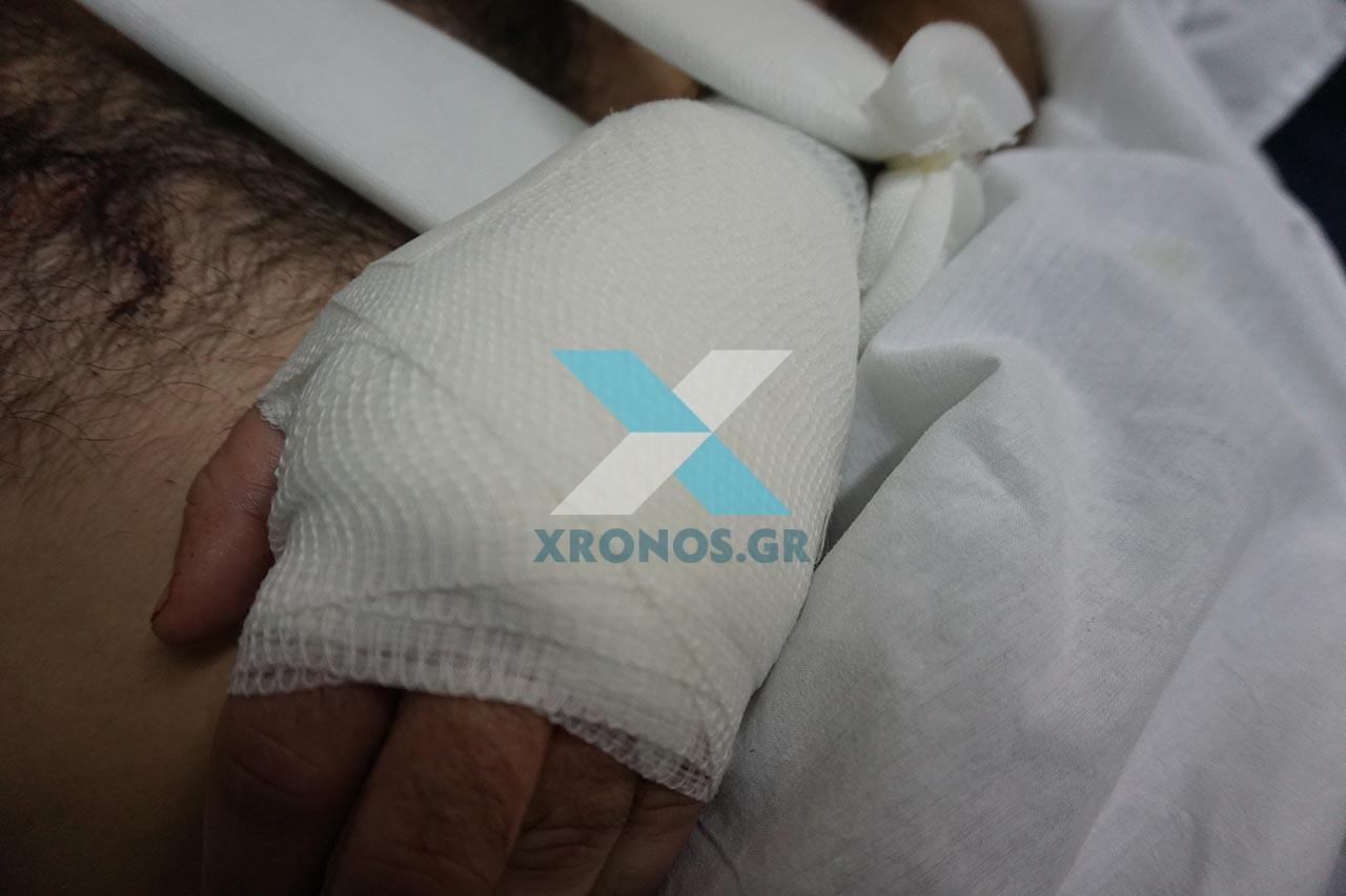 Αποτέλεσμα εικόνας για ο τραυματίας αστυνομικός στήν Θράκη